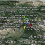 Google Earth map for Marble Skiing