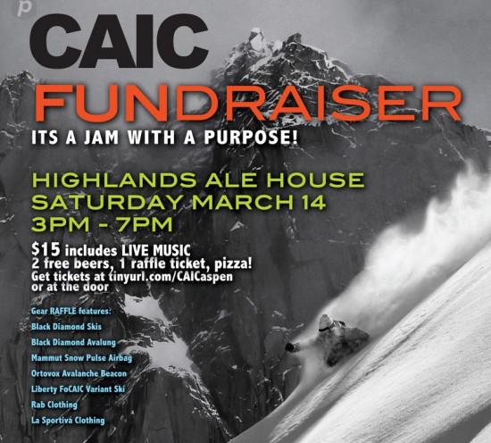 Fundraiser CAIC.